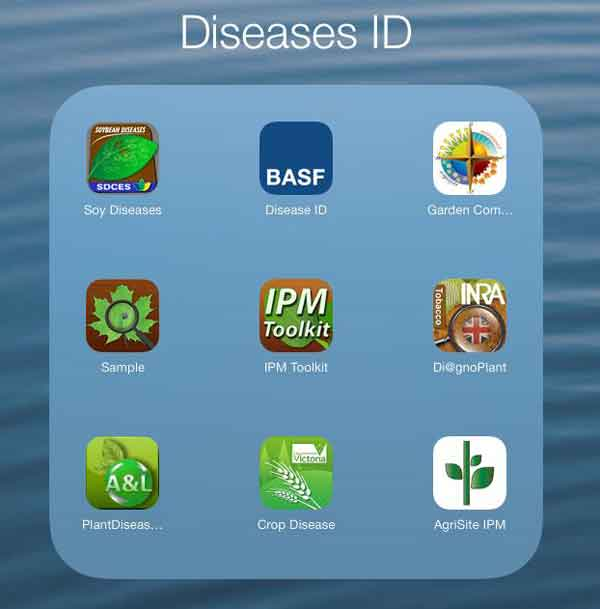 disease recognition apps